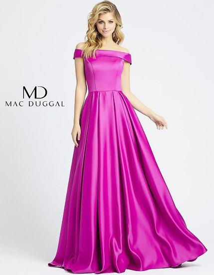 Mac Duggal 25669 Fuchsia