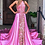 Thumbnail: Sherri Hill 54302 Nude/Bright Pink/Light Pink