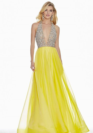 Ashley Lauren 1391 Two- Toned Yellow