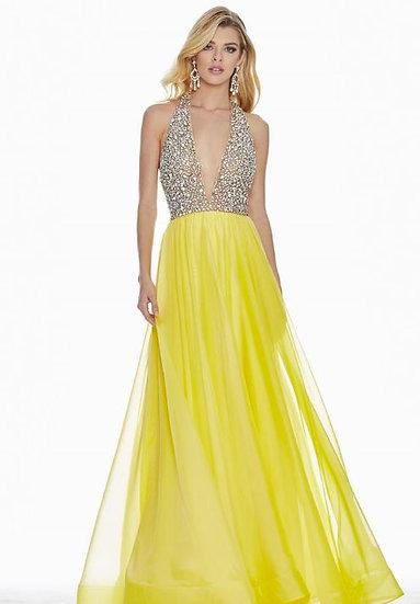Ashley Lauren 1391 Two- Toned Yellow