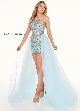 Rachel Allan 70018 Powder Blue Mutli