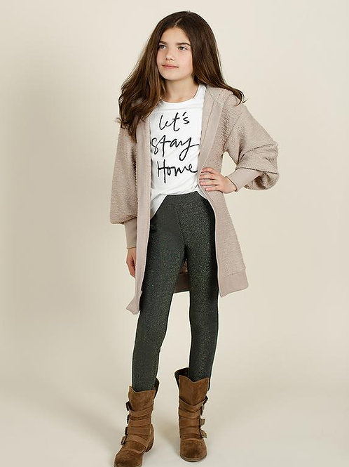 Joyfolie Kimberly Cardigan Taupe