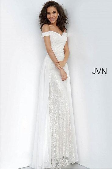 Jovani JVN62489A Ivory/Nude