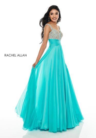 Rachel Allan 7018 Aqua Blue