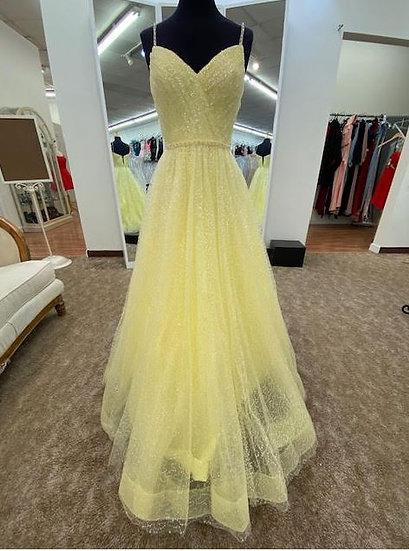 Sherri Hill 53637 Yellow