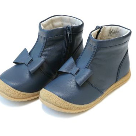 L'Amour Hilary Bow Boot Navy