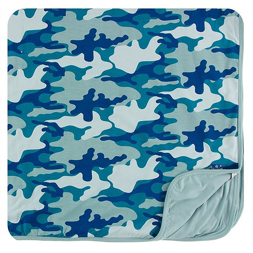 Print Toddler Blanket Oasis Military
