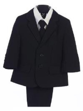 Lito 5pc Black Suit 3582