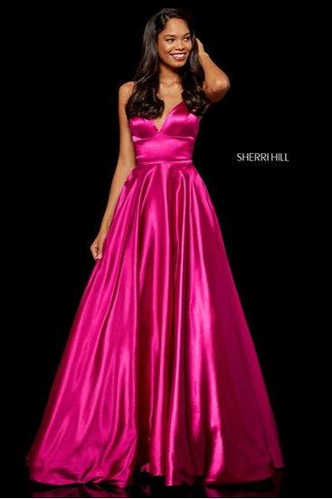 Sherri Hill 52195 Fuchsia