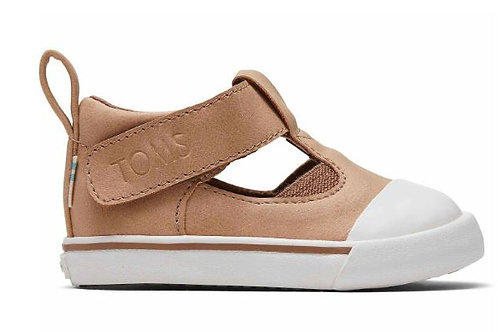 Tom's Honey Synthetic Suede Joon Flat