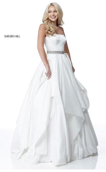 Sherri Hill 51633 Ivory