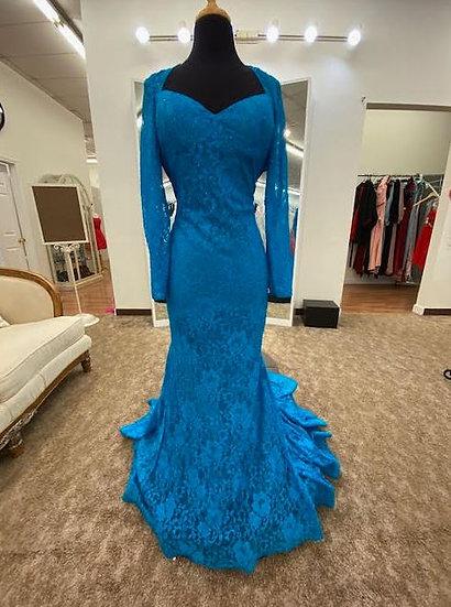 Sherri Hill 53682 Turquoise