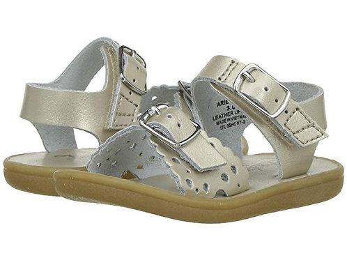 Footmates Ariel Sandal Soft Gold