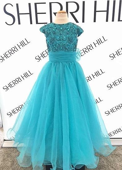 Sherri Hill K51261 Aqua