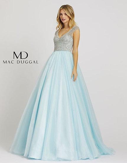 Mac Duggal 12266 Ice Blue