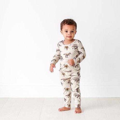 Posh Peanut Vintage Dino Pajamas