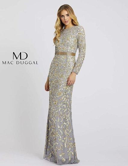 Mac Duggal 4316 Platinum/Gold