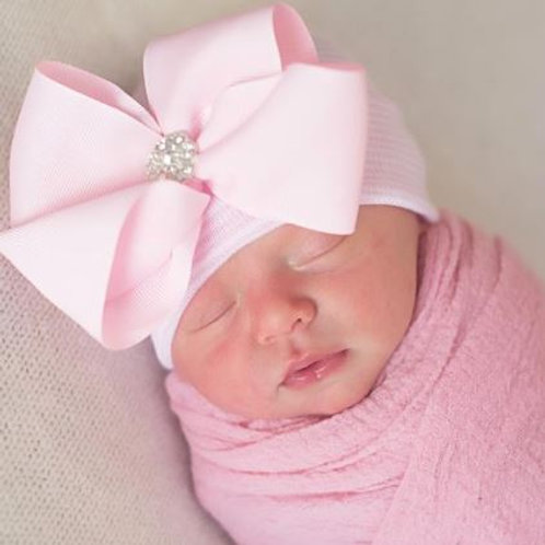 ilybean Bella Bow Pink Hat