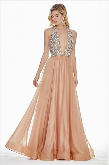 Ashley Lauren 1391 Two Tone Rose Gold