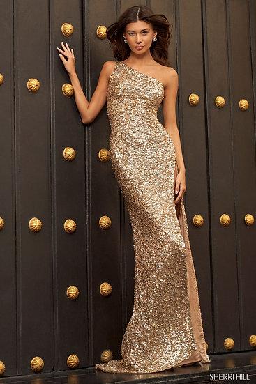 Sherri Hill 54470 Light Gold