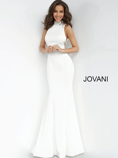 Jovani 1005A Off White