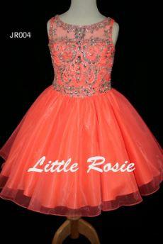 Little Rosie JR004 Neon Coral