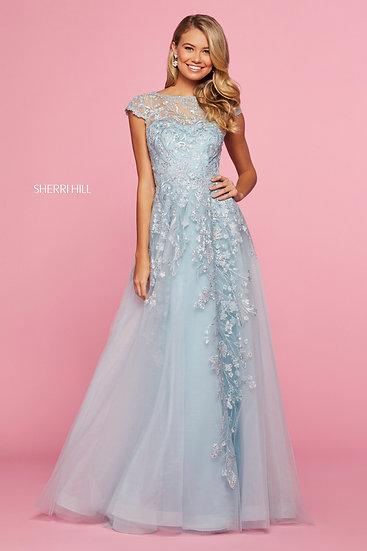 Sherri Hill 53621 Light Blue