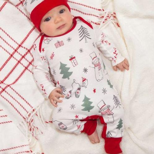 Tesa Babe Christmas Romper