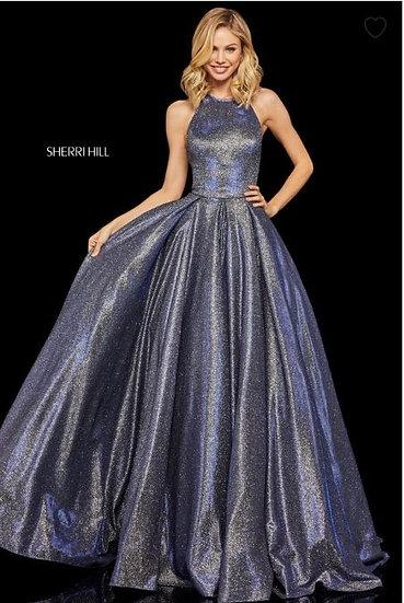 Sherri Hill 52964 Royal/Silver