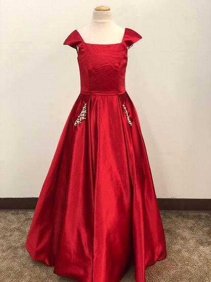 Sherri Hill K53840 Red