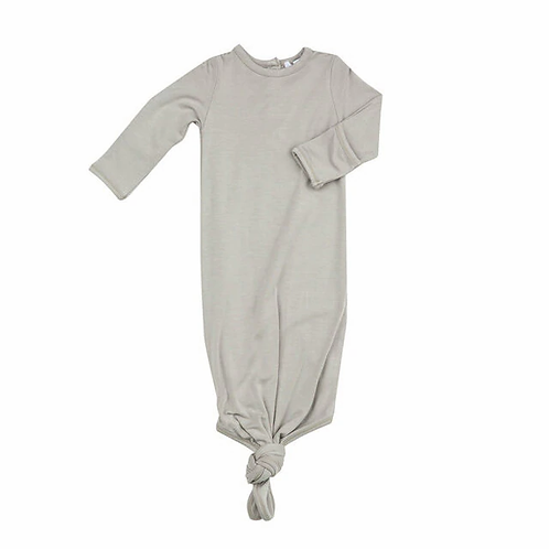 Angel Dear Knotted Gown Grey