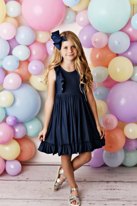 Swoon Baby Denim Bella Essentials Dress