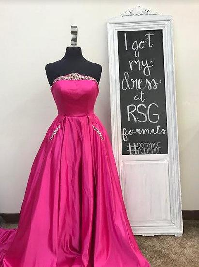 Sherri Hill 53320 Bright Pink