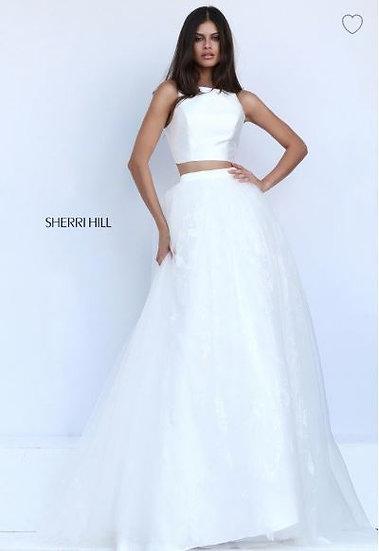 Sherri Hill 50787 Ivory