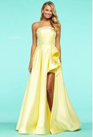 Sherri Hill 53710 Yellow