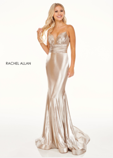 Rachel Allan 70053 Gold Metallic
