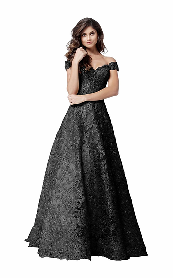 Sherri Hill 51573 Black