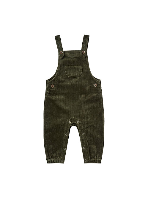 Rylee + Cru Corduroy Overall Forest
