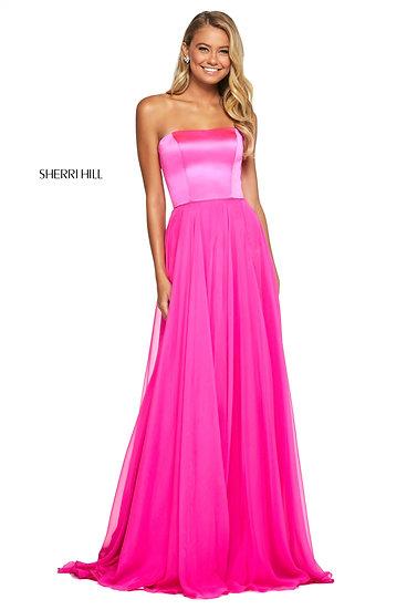 Sherri Hill 53574 Hot Pink