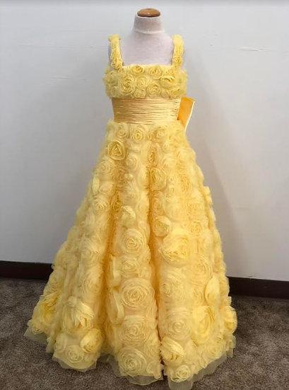 Sherri Hill K53856 Yellow