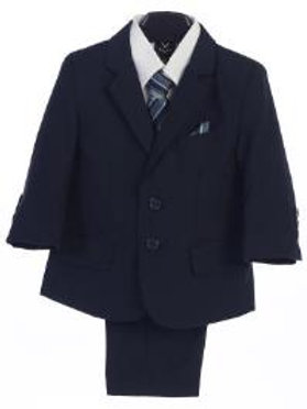 Lito 5pc Navy Suit 3582