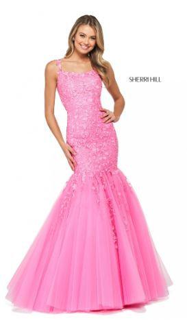 Sherri Hill 53826 Bright Pink