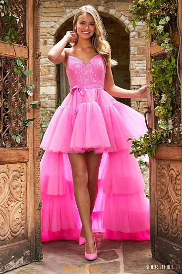 Sherri Hill 53820 Candy Pink
