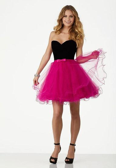 Mori Lee 33010 Pink/Black