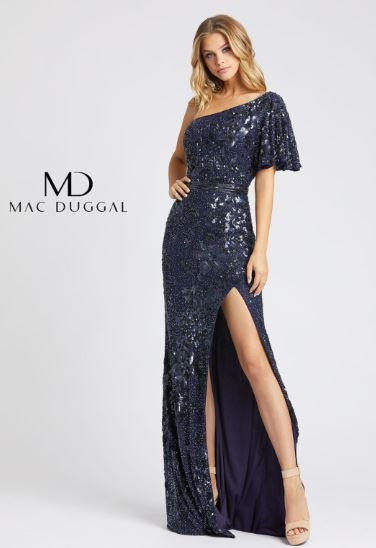 Mac Duggal 4986 Midnight Blue