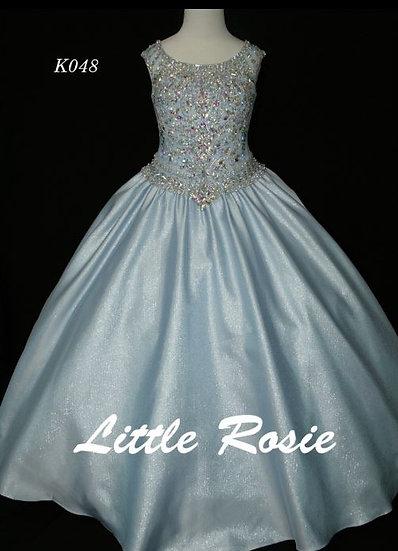 Little Rosie K048 Ice Blue