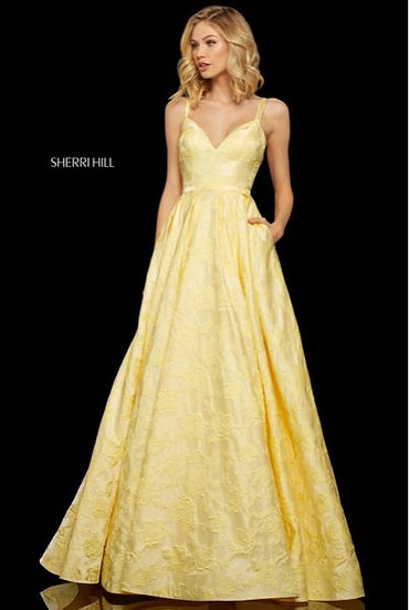 Sherri Hill 52953 Yellow