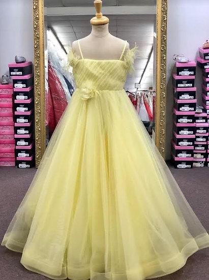 Sherri Hill K53854 Yellow