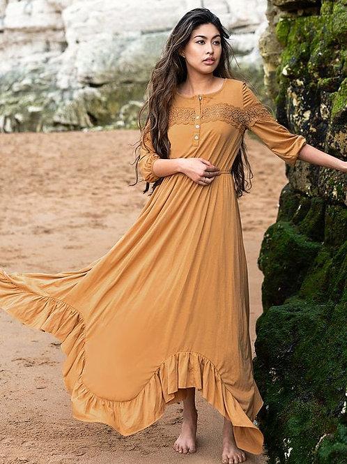Joyfolie Vanita Dress Marigold Womens
