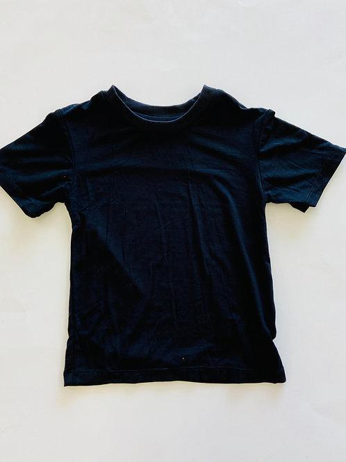 Kickee Pants Solid Short Sleeve Easy Fit Crew Neck Tee Midnight